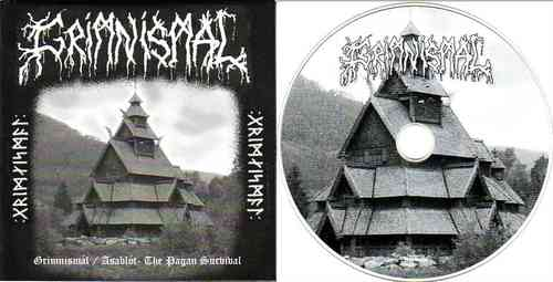 GRIMNISMÁL - Grimnismál / Asablót - The Pagan Survival (CD)