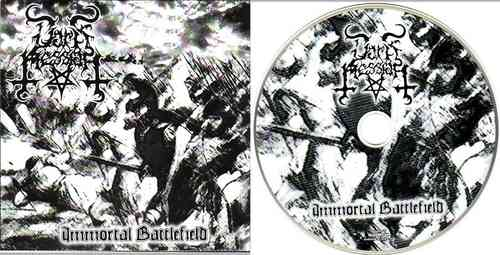 DARK MESSIAH - Immortal Battlefield (CD)