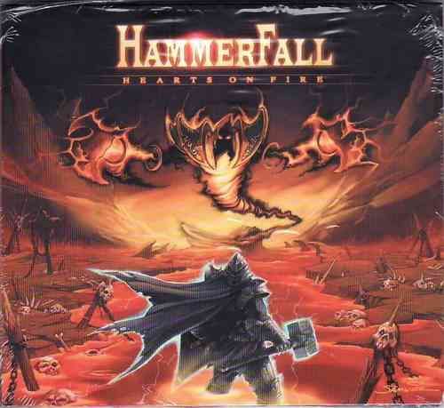 HAMMERFALL - Hearts On Fire (DIGI-Single)