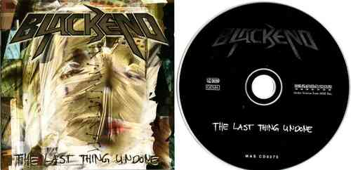 BLACKEND - The Last Thing Undone (CD)