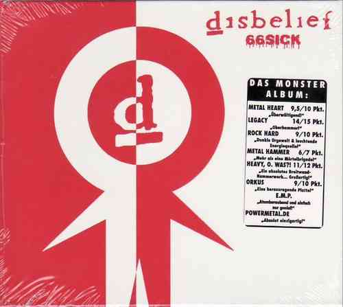 DISBELIEF - 66 Sick (Limitierte CD)