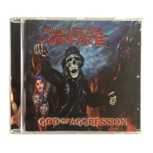 NUCLEAR WARFARE - God Of Aggression (CD)