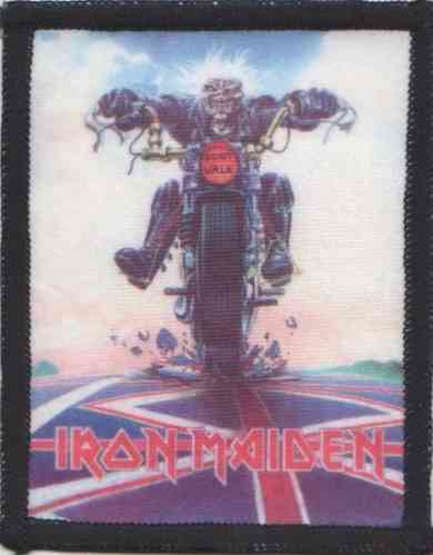 "IRON MAIDEN - Photo Patch ""Don't Walk"" (Patch Nr. 1)"