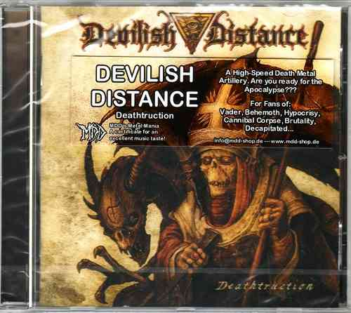 DEVILISH DISTANCE - Deathtruction (CD)
