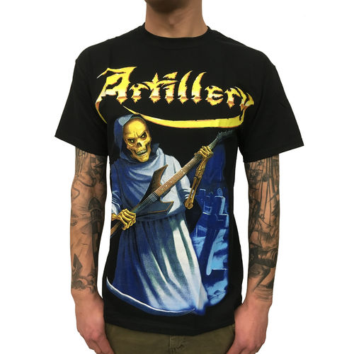 ARTILLERY - One Foot In The Grave (T-Shirt) Metal Bandshirt