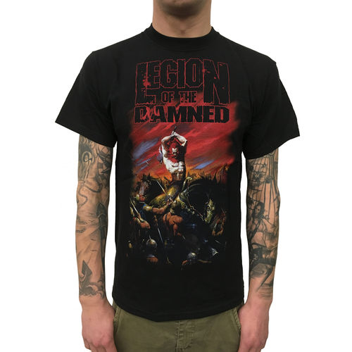 LEGION OF THE DAMNED - Slaughtering (T-Shirt) Metal Bandshirt