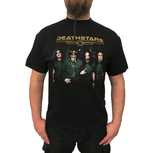 DEATHSTARS - 48 Carat Darkness Tourshirt (T-Shirt) Metal Bandshirt