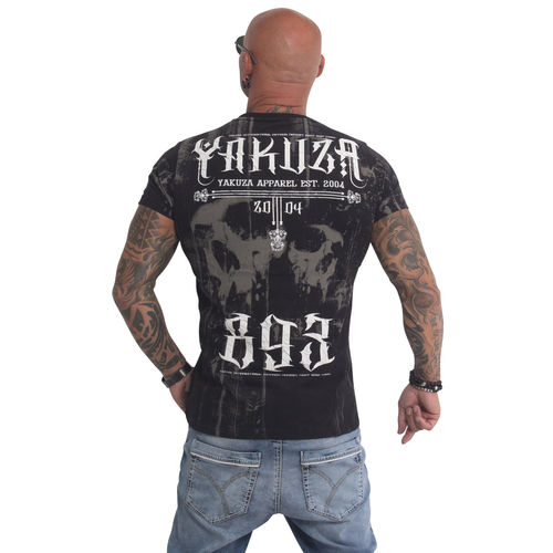 "YAKUZA - Herren T-Shirt TSB 9001 ""Dark Side"" black (schwarz)"