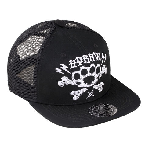"HYRAW - Snap Back Trucker Cap ""Bagarre / Fight"" black (schwarz)"