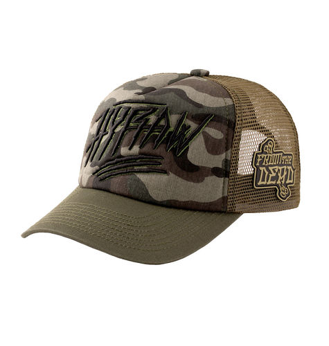 "HYRAW - Snap Back Trucker Cap ""Hunter"" camouflage (tarn)"