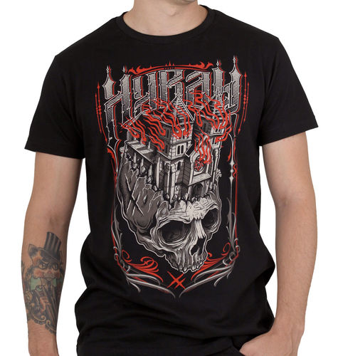 "HYRAW - Herren T-Shirt ""Black Church"" black (schwarz)"