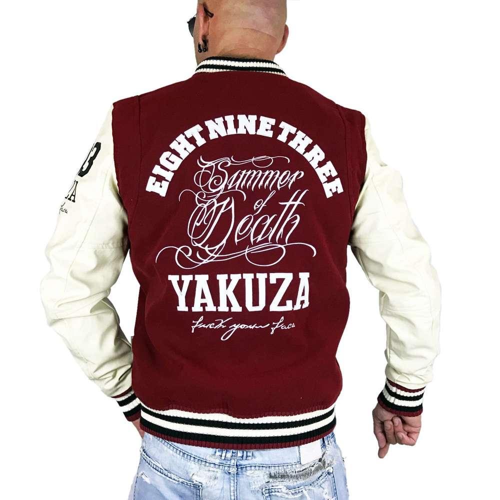 yakuza herren jacke college jacke