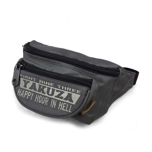 "YAKUZA - Gürteltasche GTB 10201 ""Happy Hour"" dark grey (grau)"