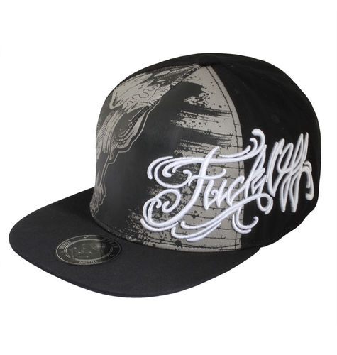 "HYRAW - Snap Back Cap ""Prison"" black (schwarz)"