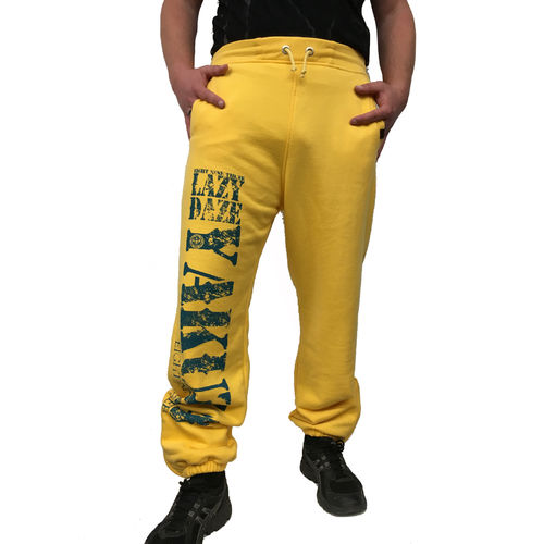 "YAKUZA - Herren Jogginghose JOB 7034 ""Lazy Daze"" banana cream (gelb)"