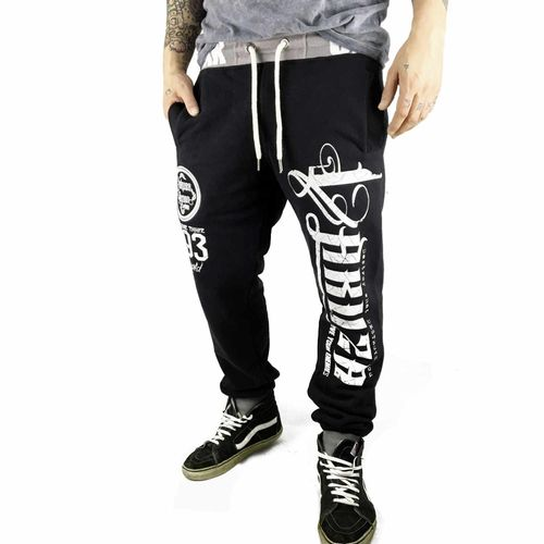"YAKUZA - Herren Jogginghose JOB 10055 ""2 Face"" black (schwarz)"