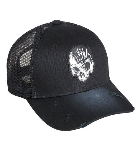 "HYRAW - Snap Back Trucker Cap ""Dead"" black (schwarz)"