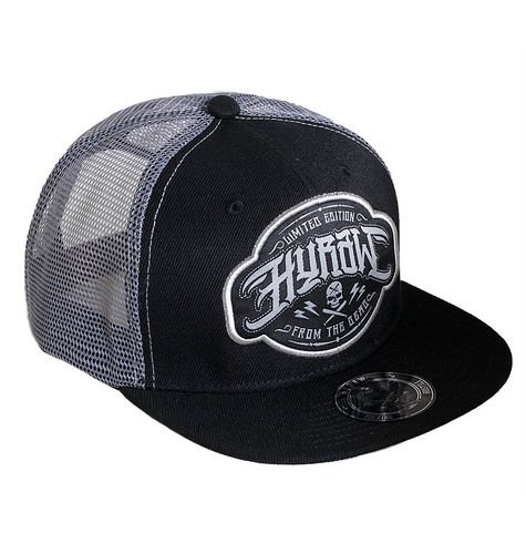 "HYRAW - Snap Back Trucker Cap ""Bat"" black (schwarz)"