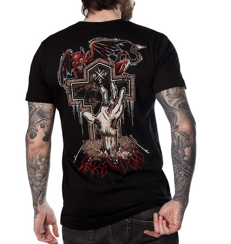 "HYRAW - Herren T-Shirt ""Wake The Dead"" black (schwarz)"