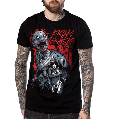 "HYRAW - Herren T-Shirt ""From The Dead"" black (schwarz)"