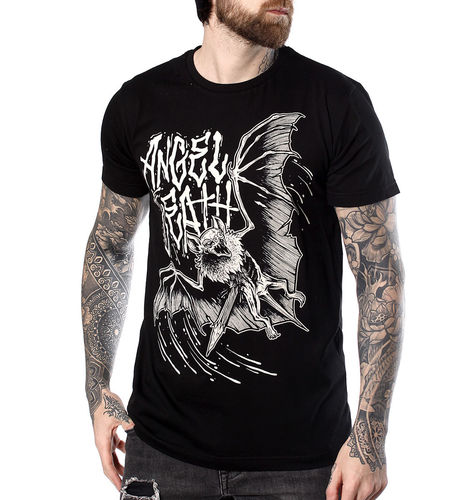 "HYRAW - Herren T-Shirt ""Angel Of Death"" black (schwarz)"