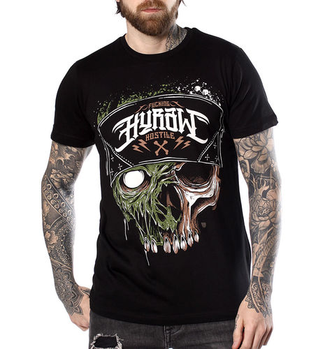 "HYRAW - Herren T-Shirt ""Infectious"" black (schwarz)"