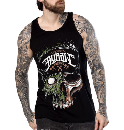 "HYRAW - Herren Tank Top ""Infectious"" black (schwarz)"