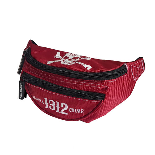 "MAFIA & CRIME - Gürteltasche MC 592 ""1312"" red (rot)"