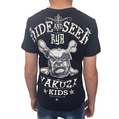 "Kinder T-Shirt TSB 10402 Kids /""Hide And Seek/"" dark navy blauschwarz YAKUZA"