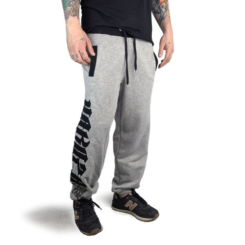 "YAKUZA - Herren Jogginghose JOB 12052 ""Daily Use"" light grey melange (grau)"