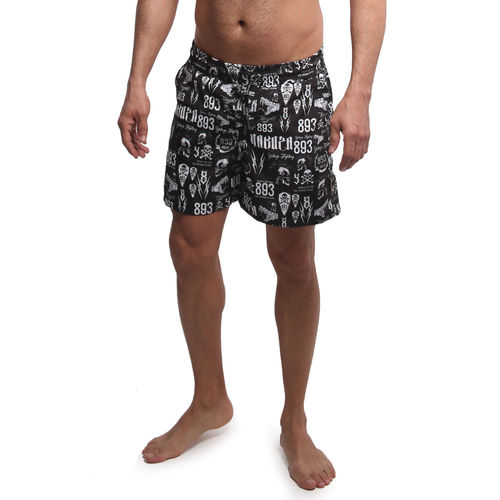"YAKUZA - Badeshorts BSB 14079 ""Allover Carry"" Badehose black (schwarz)"