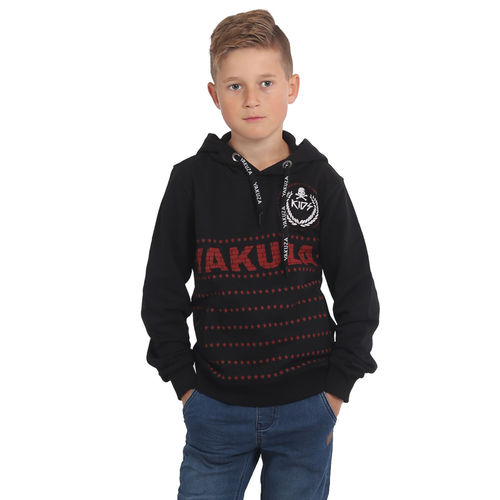 "YAKUZA - Kinder Hoodie HOB 15401 Kids ""War Is Sweet"" black (schwarz)"
