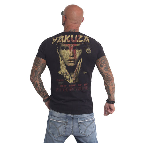 "YAKUZA - Herren T-Shirt TSB 610 ""Face Of Evil"" black (schwarz)"