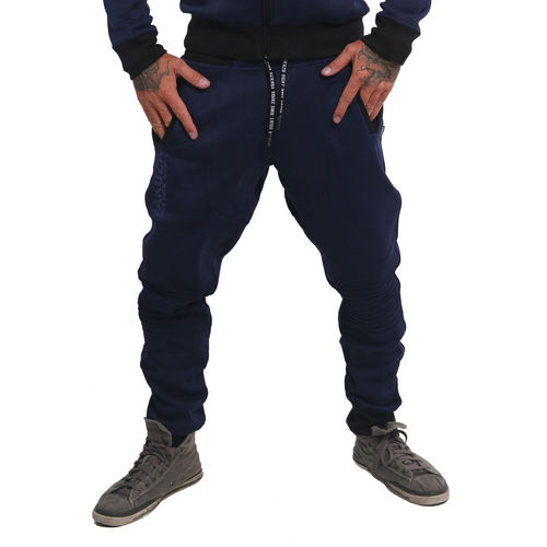 "YAKUZA - Sports Line Herren Jogginghose JOB 14502 ""S&F"" mood indigo (blau)"