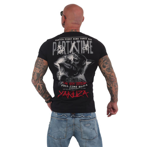 "YAKUZA - Herren T-Shirt TSB 15025 ""Party Time"" black (schwarz)"