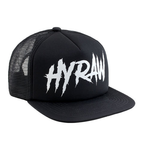 "HYRAW - Snap Back Trucker Cap ""Mosh"" black (schwarz)"