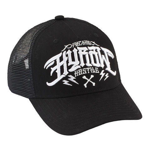 "HYRAW - Snap Back Trucker Cap ""Origin"" black (schwarz)"