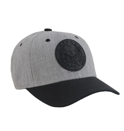 "HYRAW - Snap Back Basecap ""Blazon"" black/grey (schwarz/grau)"