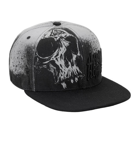 "HYRAW - Snap Back Cap ""Misery"" black/grey (schwarz/grau)"