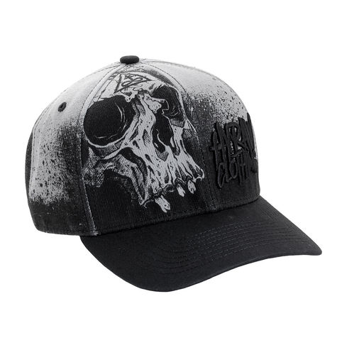 "HYRAW - Snap Back Basecap ""Misery"" black/grey (schwarz/grau)"