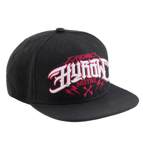"HYRAW - Snap Back Cap ""Red Fuck"" black (schwarz)"