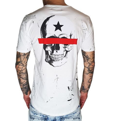 "BLACK ISLAND - Herren T-Shirt 1938 ""Freedom"" white (weiß)"