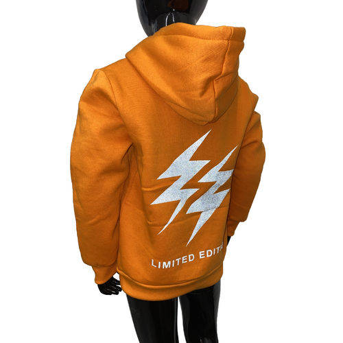 "SQUARED & CUBED - Kinder Hoodie SHY-1035 ""Lightnings Reflection"" orange"