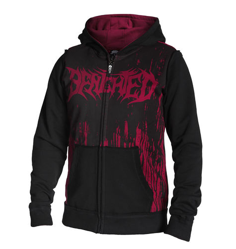 BENIGHTED by HYRAW - Jacke / Kapuzenjacke black (schwarz)