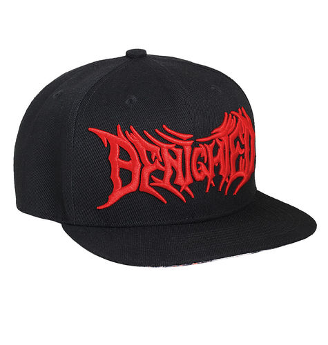 "BENIGHTED by HYRAW - Snap Back Cap ""Obscene Repressed"" black (schwarz)"