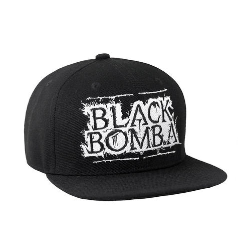 "BLACK BOMB A by HYRAW - Snap Back Cap ""Logo"" black (schwarz)"