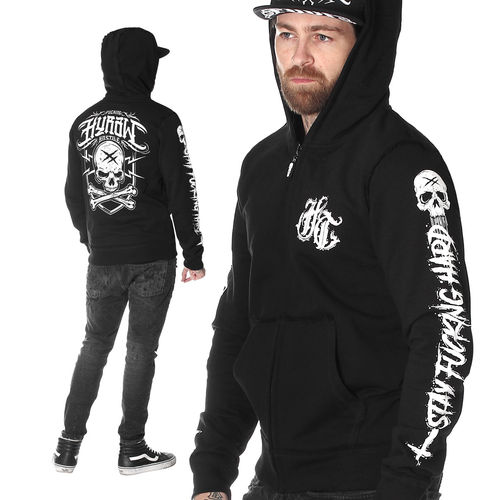 "HYRAW - Jacke / Kapuzenjacke ""Stay Fucking Hard"" black (schwarz)"