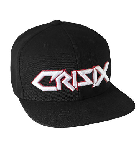 "CRISIX by HYRAW - Snap Back Cap ""Ultra Fuckin' Thrash"" black (schwarz)"